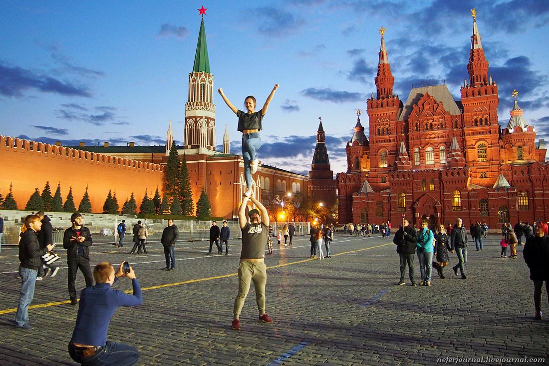 На Красной площади есть туалет. Даже два.