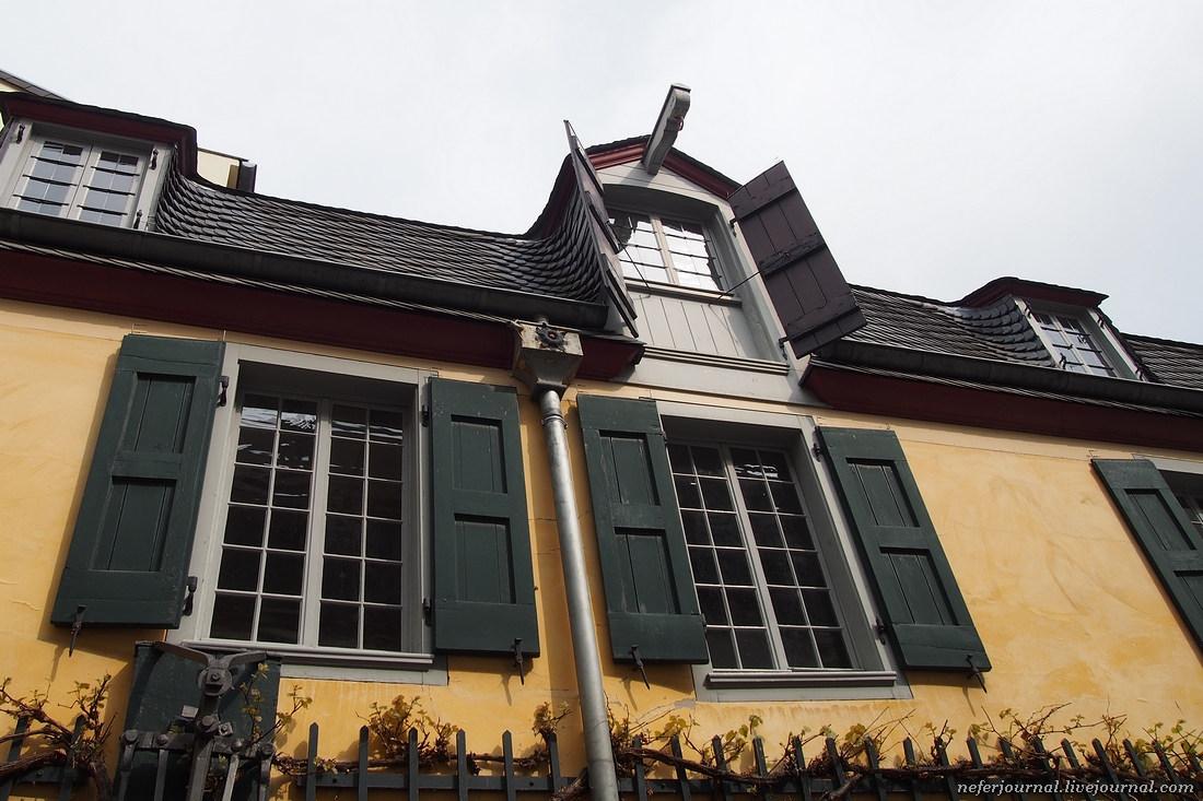 Бонн. Дом Бетховена и Марктплац.