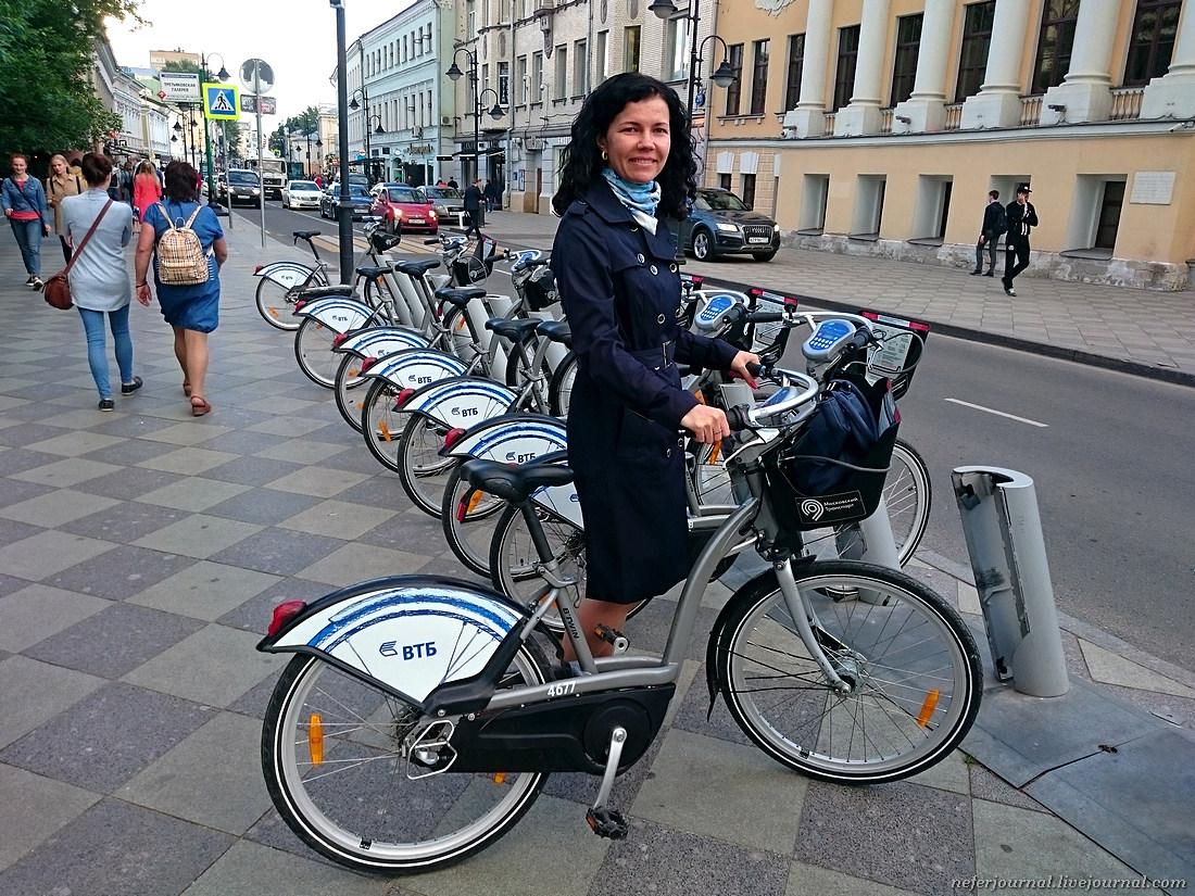 Велопрогулка на каблуках