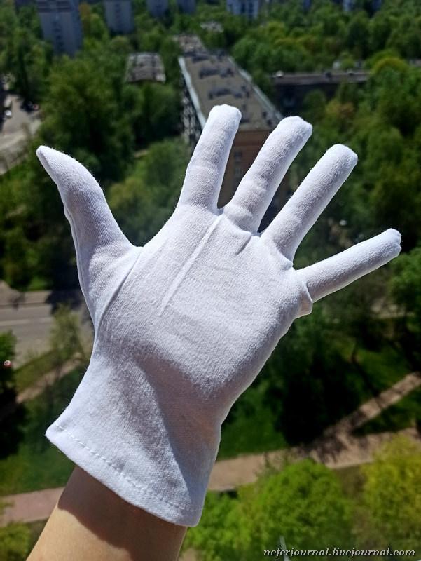 Не хочу носить резиновые перчатки