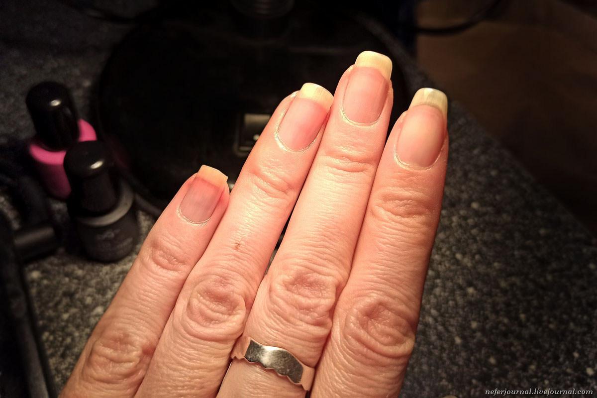 Как укрепить ногти, мой опыт