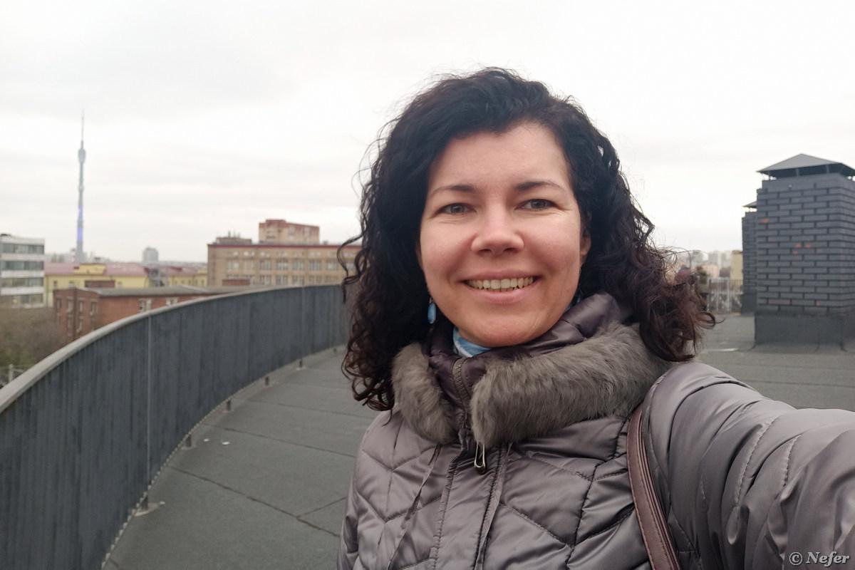 Побывала на крыше легендарного Хлебозавода