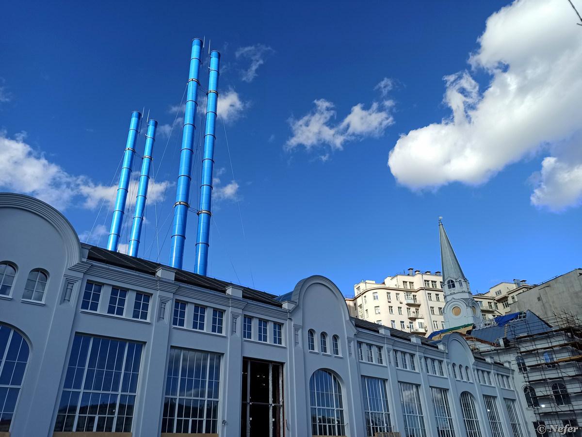 Октябрьский Красный Октябрь moscow,redminote8pro,Россия