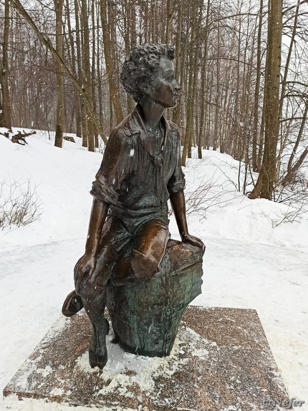 Колодец в усадьбе Захарово - персонаж пушкинских сказок redminote8pro,музеи/выставки