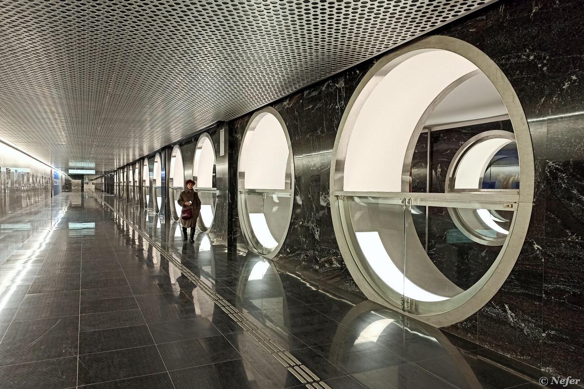 Новая необычная Электрозаводская метро,redminote8pro