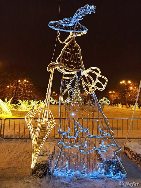 Сказочный лес в парке Сокольники