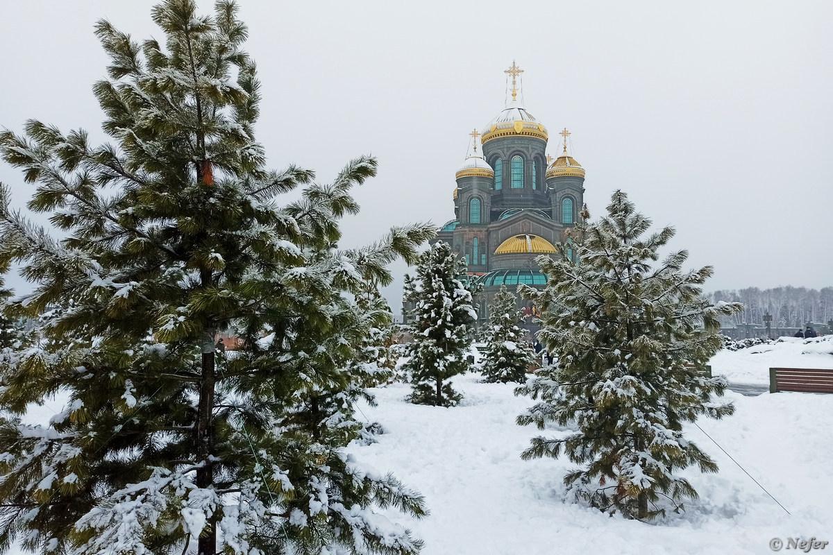 Главный храм Вооруженных сил РФ напомнил о Японии, там тоже такое есть