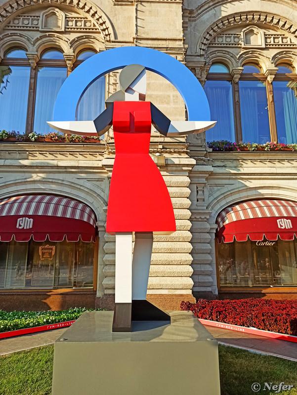 Архстояние на Красной площади