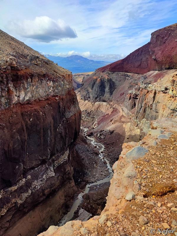 Ядовитая речка в каньоне Опасный, Камчатка redminote10pro,Камчатка,Россия