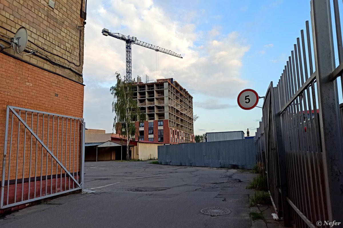 Останкинский молочный завод и соседний завод напитков снесли. Вместо них -